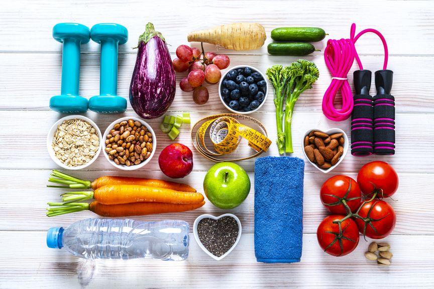 Gesunde Ernährung und Sport
