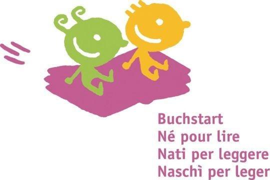 Logo Buchstart