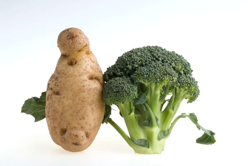Broccoli und Kartoffeln