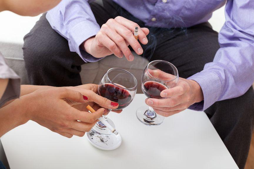 Alkohol und Rauchen