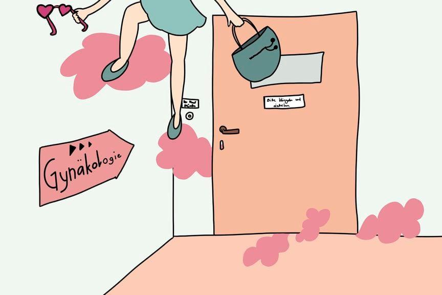 Schwangerschaftskolumne Woche 31 Rosa Brille
