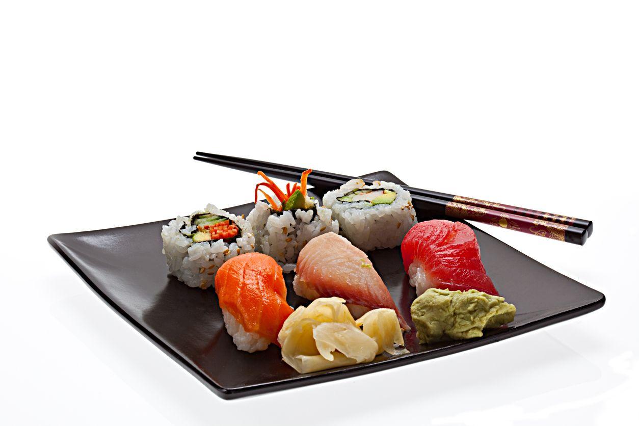 Roher Fisch, Sushi