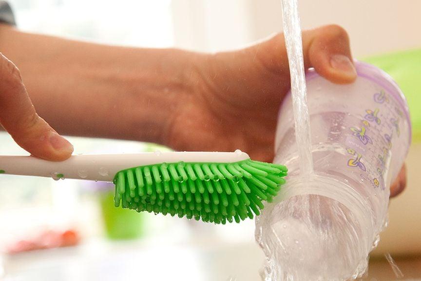 Reinigung und Hygiene bei der Schoppenvorbereitung