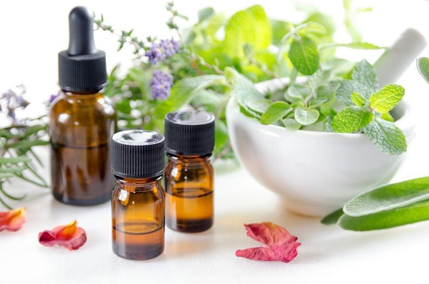 ätherische Öle und Pflanzen
