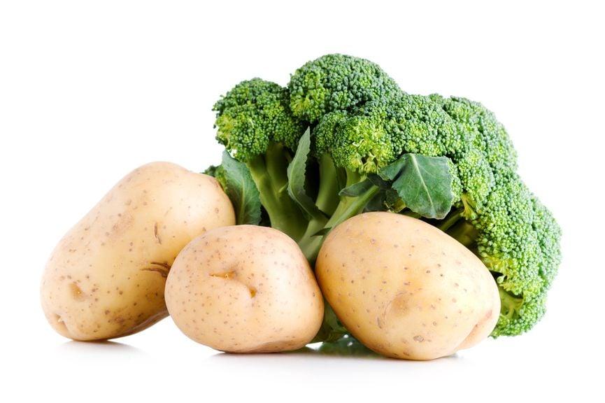 Kartoffeln und Broccoli