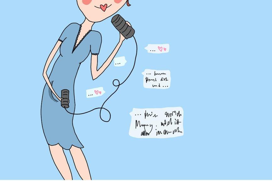 Schwangerschaftskolumne Woche 14 Bauchtelefon