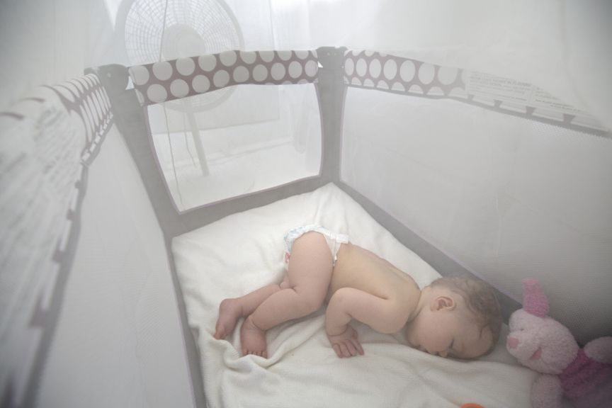 Baby schläft