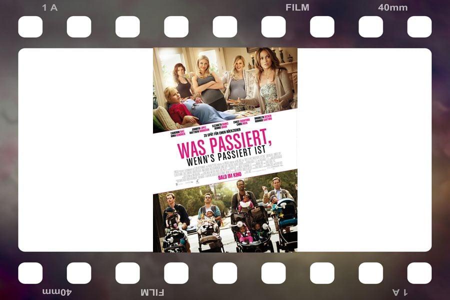 Filmplakat Was passiert