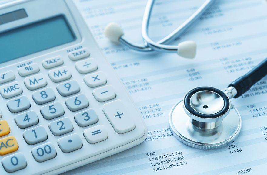 Symbolbild Krankenkassenrechnung