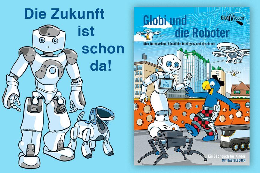 Globi Roboter Swissmom