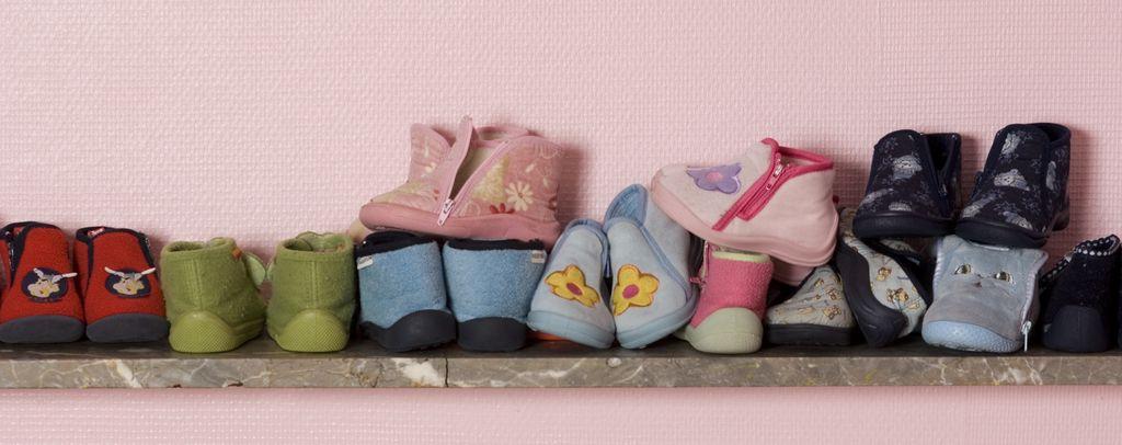 Schuhe im Kindergarten oder Kita