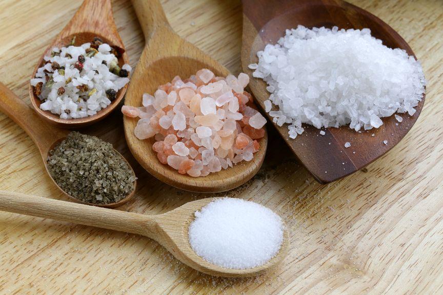 Verschiedene Salzsorten