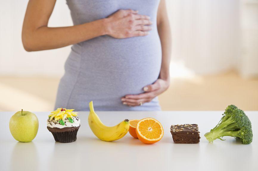 gesunde oder weniger gesunde Lebensmitteln