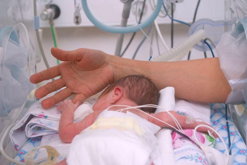 Fruehgeborenes auf der Intensivstation