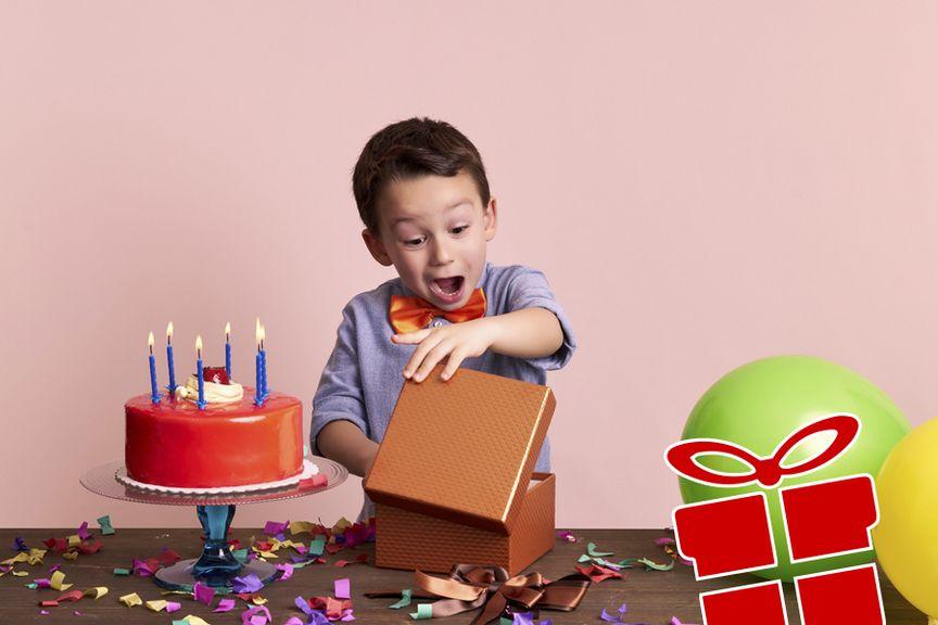 Junge Geburtstag Geschenk Icon