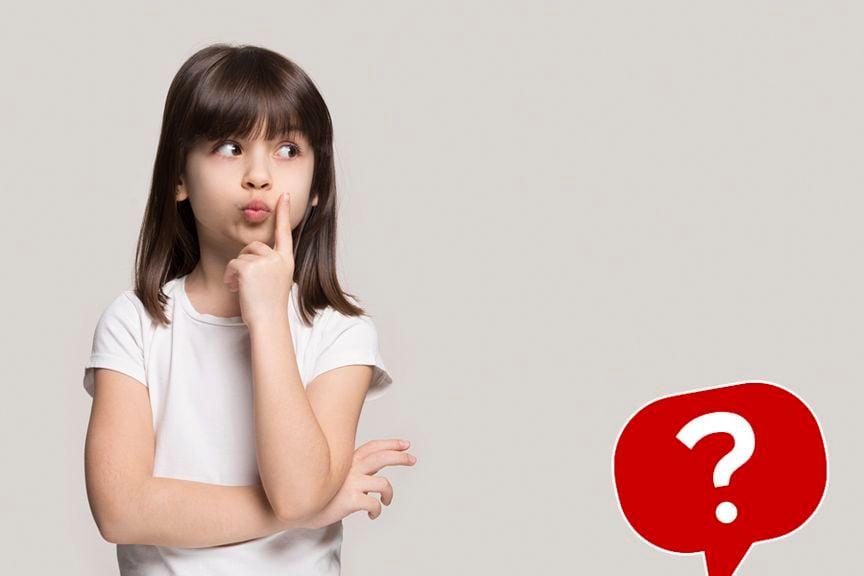 Kind mit Icon