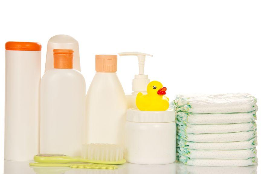 verschiedenes für die Babypflege