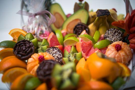 Obst und Schoggi
