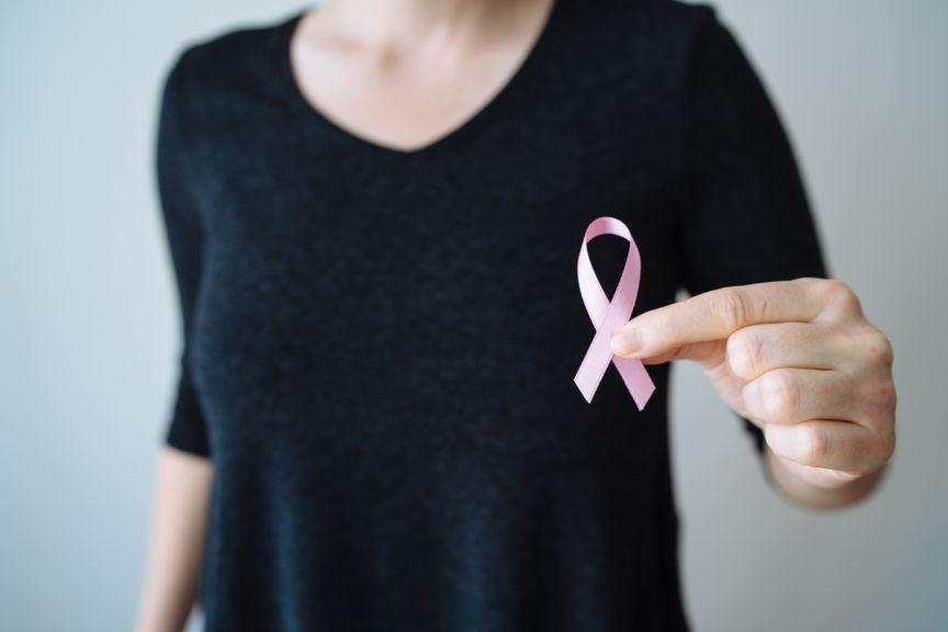Rosa Schleife, Symbol für Brustkrebs