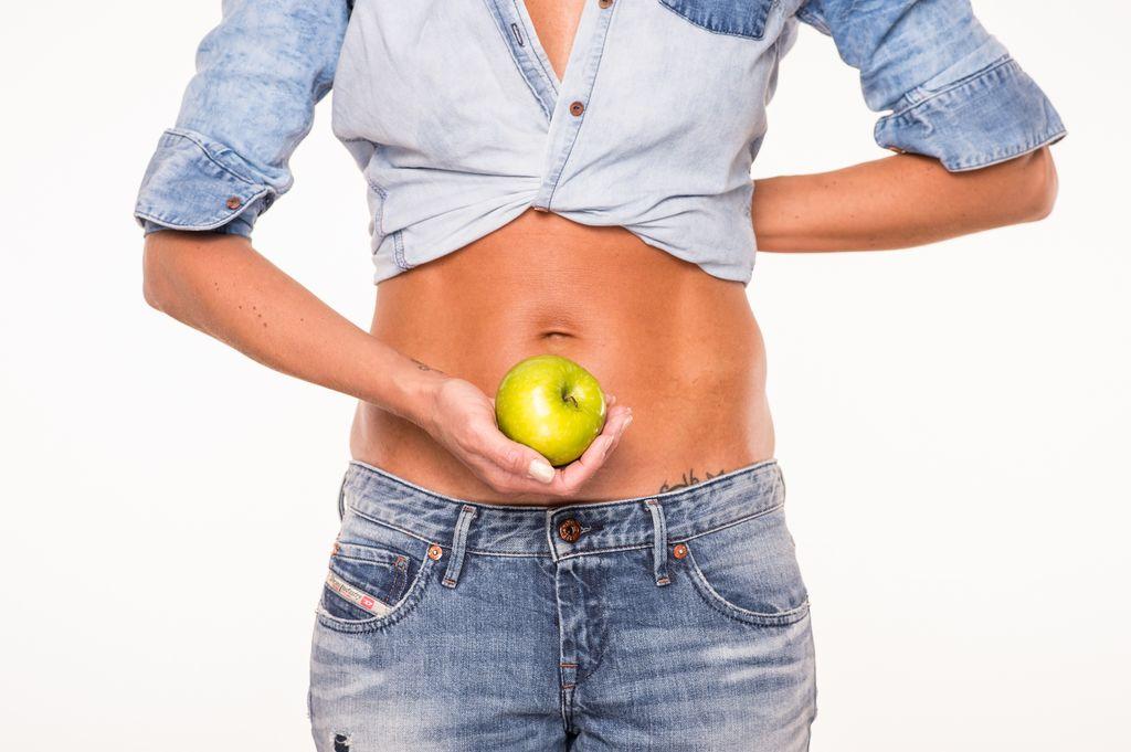 Babybauch 11 Fruechte Apfel