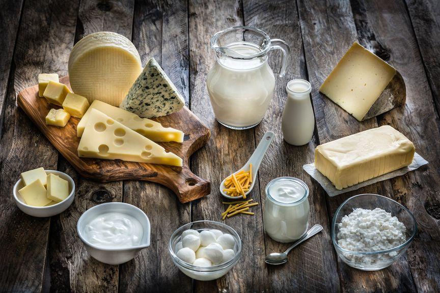 Diverse Milchprodukte
