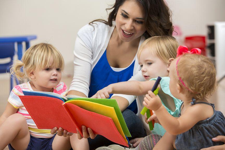 Kinder mit Tagesbetreuung