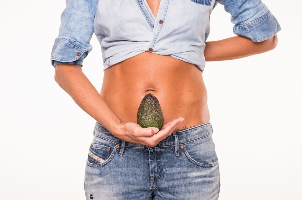 Babybauch 12 Fruechte Avocado