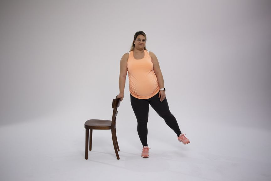 GFS Video 2 stehnd Fitness in der Schwangerschaft