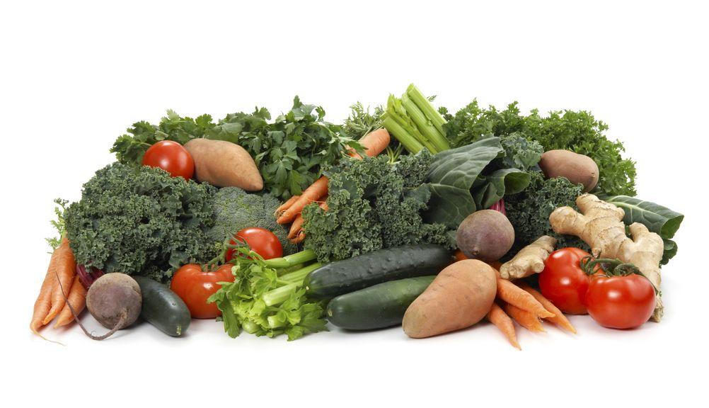 Diverse Gemüsesorten